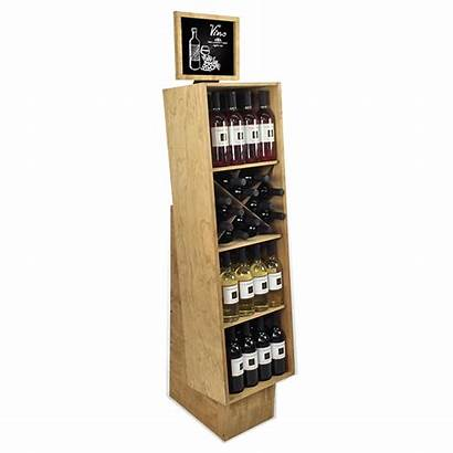 Display Wine Wooden Wood Holidaypac Racks Beer