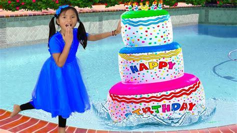 Wendy Pretend Play W Giant Happy Birthday Cake Inflatable