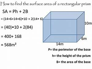Surface area of a cube and rectangular prism - ppt video ...