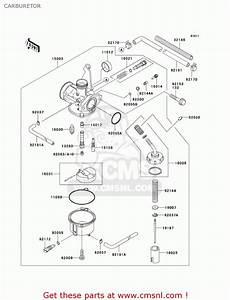 Klx 110 Carburetor Diagram