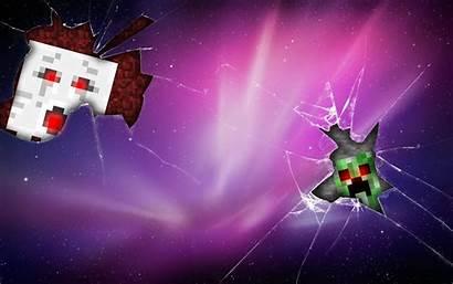 Minecraft Backgrounds Creeper Cave Mac