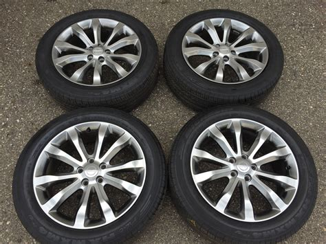 "Factory 19"" 2014 2015 Chrysler 300 Awd Wheels And Tires"