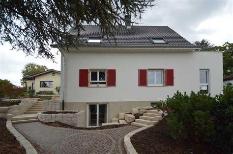 Umbau Einfamilienhaus Mit Doppelgarage, In Weilhaltingen