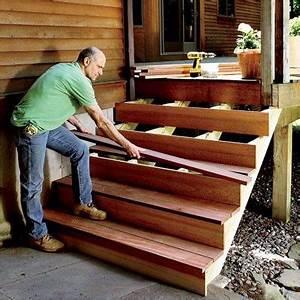 Construire Un Escalier Extérieur : comment construire un escalier diy pinterest maison construire et escalier ext rieur ~ Melissatoandfro.com Idées de Décoration