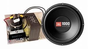 How To Make Home Subwoofer Amplifier  Tda7222 Ap