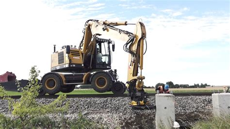 Hydrema Rail Solutions - A Rail Excavator and Dumper in ...