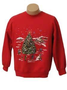 Ugly Christmas Sweatshirt Women's