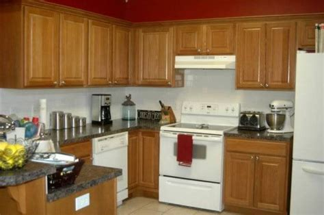 white appliances with oak cabinets furniture durable oak kitchen cabinets oak kitchen