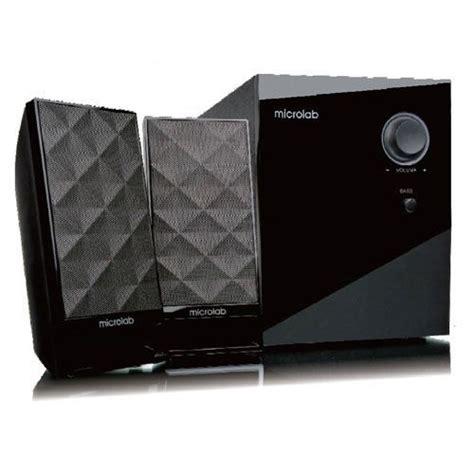 microlab m 300 2 1 speaker system 40w rms mic m300