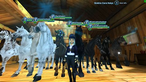 stable star horses horse game play these