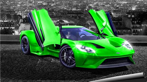 cars ford gt car compilation sounds start specifications youtube