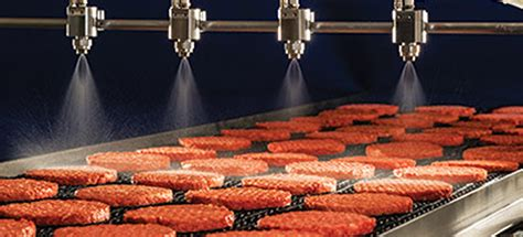 Food Processing   Markets & Applications   Spray Analysis by Spraying Systems Co.