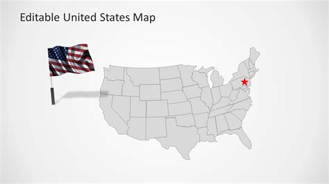 powerpoint map templates united states map template for powerpoint slidemodel