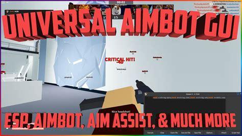 op roblox script fe universal aimbot gui esp aimbot