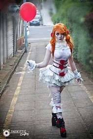 Pennywise Clown Girl Cosplay