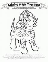 Coloring Fire Safety Dog Safe Prevention Dulemba Printable Coloringhome Talking Sparky Template Tuesday Clipart Clip Sketch Elmo Adult Adults Kindergarten sketch template