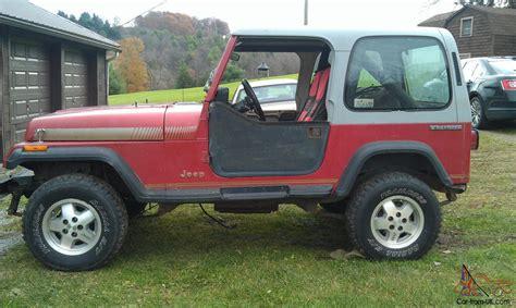 jeep body 1988 jeep wrangler yj excellent body frame