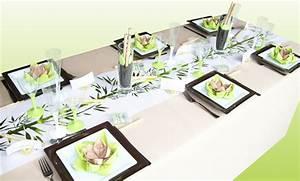 Set De Table En Bambou : d coration mariage zen bambou id es et d 39 inspiration sur ~ Premium-room.com Idées de Décoration