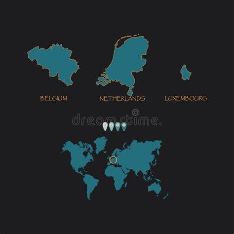 Sind Benelux Staaten by Benelux Belgien Die Niederlande Und Luxemburg Politische