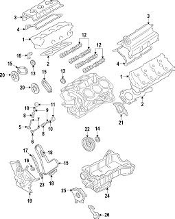 Parts Diagrams Ford Taurus Engine Component