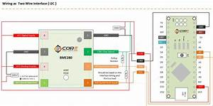 Wiring The Bme280 Environmental Sensor Using I2c  Spi