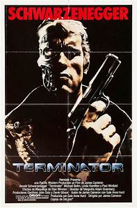 The Geeky Nerfherder: Movie Poster Art: The Terminator (1984)