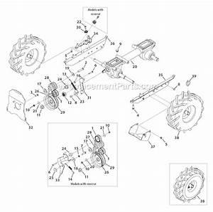 31 Troy Bilt Bronco Tiller Parts Diagram