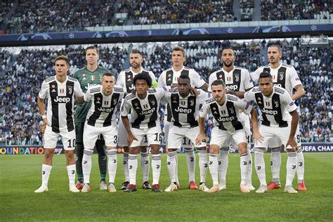 2019 Juventus Soccer Team Players