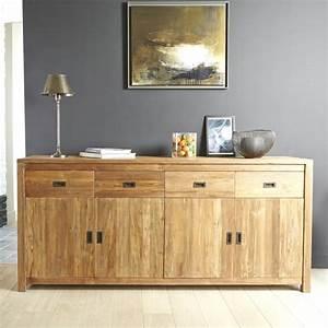 Buffet En Teck : buffet en bois de teck recycl 200 cargo bois dessus bois dessous ~ Teatrodelosmanantiales.com Idées de Décoration