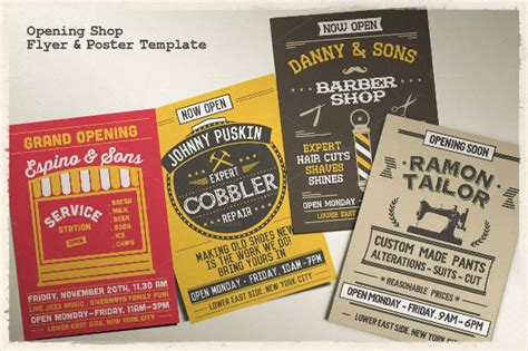 41+ Grand Opening Flyer Template