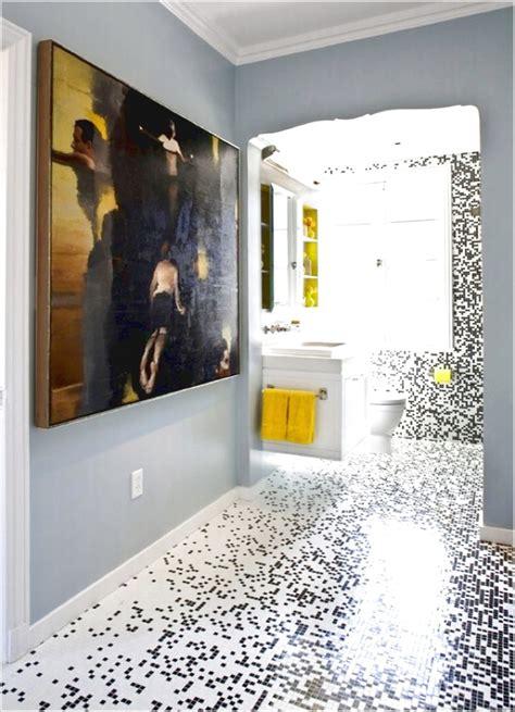 bathroom with mosaic tiles ideas glass mosaic tile bathroom floor ideas pmaaustin com