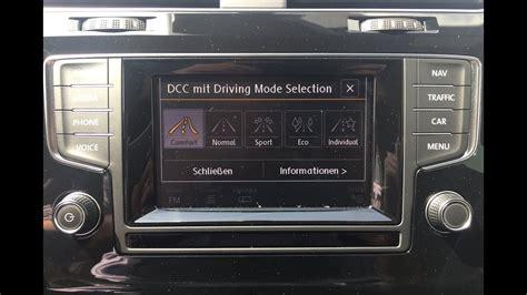 adaptive fahrwerksregelung dcc inkl fahrprofilauswahl