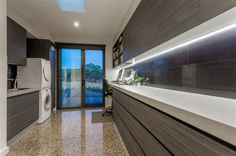 inverleigh project modern laundry room geelong