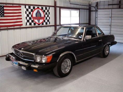 purchase used 1983 mercedes 380 sl roadster collector quailty 380sl convertible in springtown
