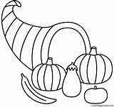 Coloring Horn Plenty Thanksgiving Pages Fall Template Printable Horns Bigactivities Autumn Print Sketch Activity sketch template