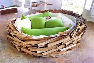 birdsnest bed design milk With nest sofa bed