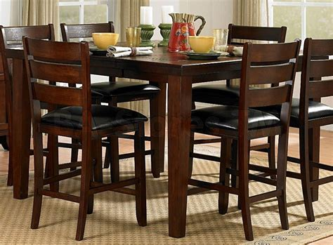 bar pub tables sets ameillia 7 pc square counter