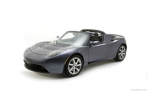 Tesla Roadster Sport 2 Wallpaper Hd Car Wallpapers