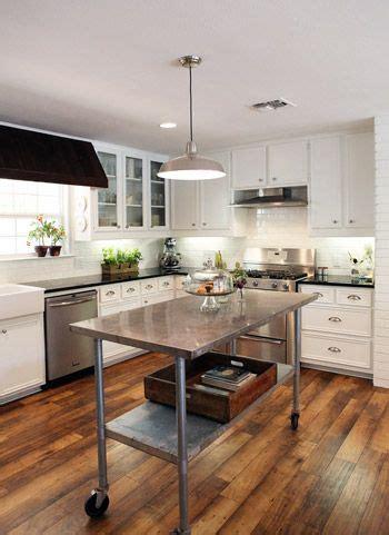 reader redesign farmhouse kitchen wood floor kitchen
