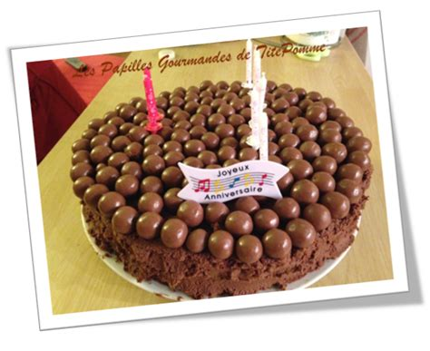g 226 teau d anniversaire au chocolat fruits rouges et sa d 233 co 171 malteser 187 les papilles