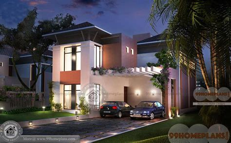 box type house design kerala home plan elevation modern story