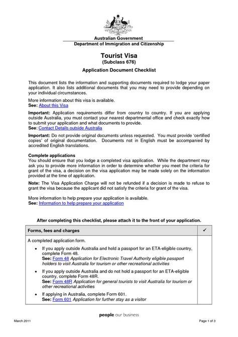 cover letter australian tourist visavisa request letter