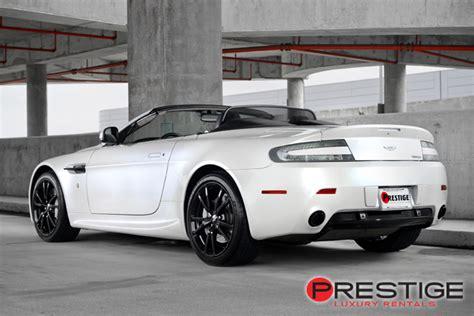 Aston Martin Vantage Convertible Rental Tampa