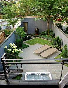 23 small backyard ideas how to make them look spacious and With modele de jardin paysager 1 jardin zen modernecomment amenager un jardin harmonieux