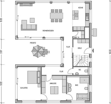 Grundriss Bungalow U Form bungalow grundriss u form house in 2019