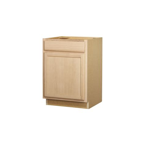 kitchen cabinet base shop project source 24 in w x 35 in h x 23 75 in d