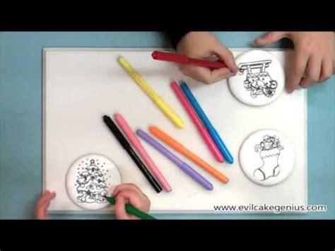 evil cake genius christmas coloring book cookies youtube