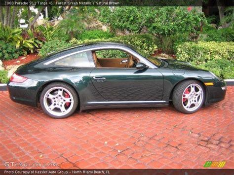 2008 Porsche 911 Targa 4s In Forest Green Metallic Photo