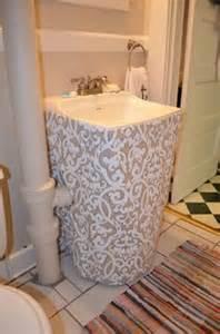 1000 ideas about sink skirt on pinterest kitchen