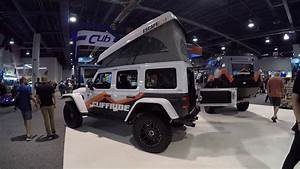Jeep Wrangler With A Camper By Cliffride